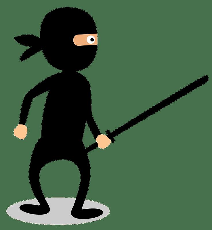 Ninja clipart transparent picture