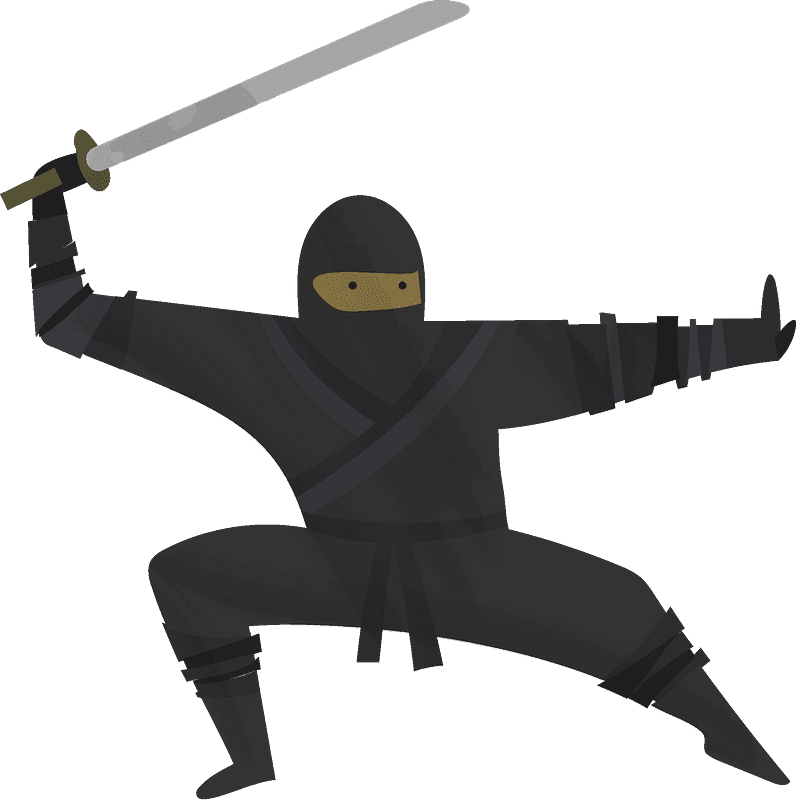 Ninja clipart transparent