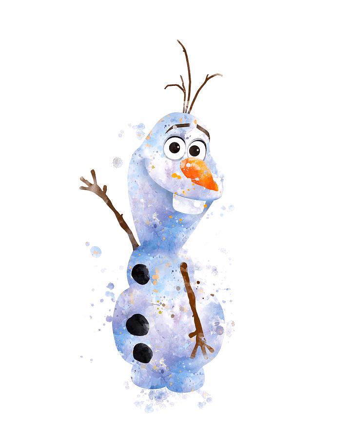 Olaf clipart free 2