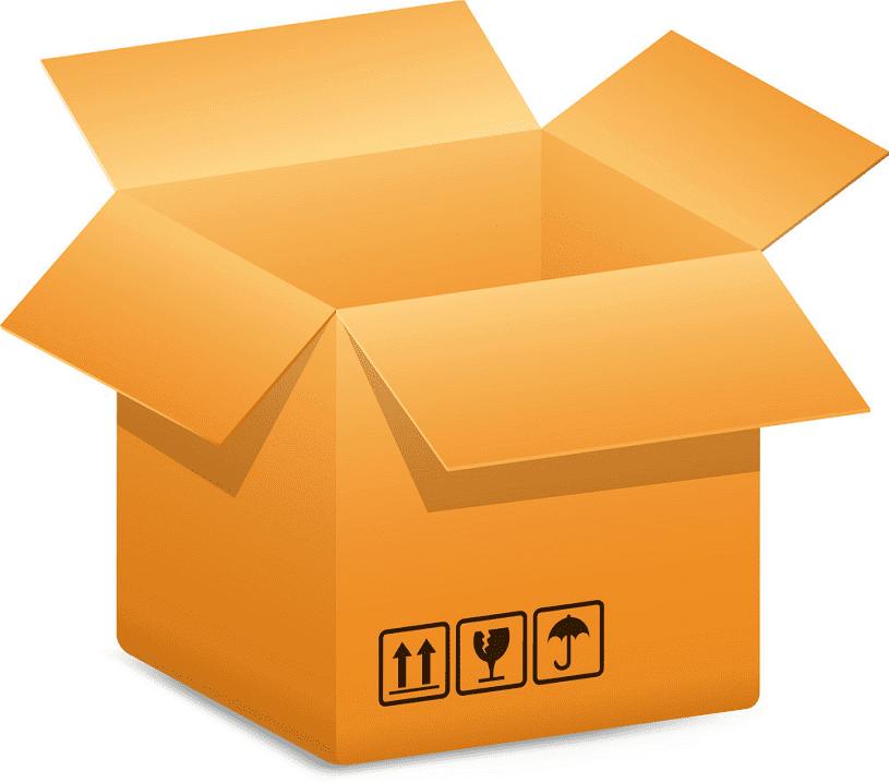 Open Box clipart 1