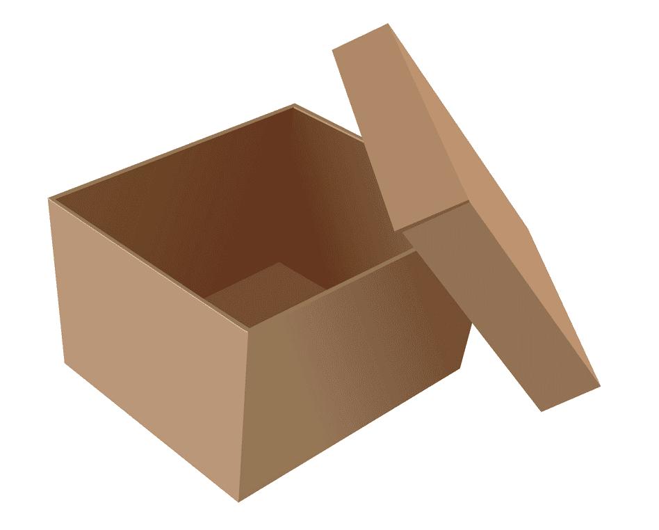 Open Box clipart 2