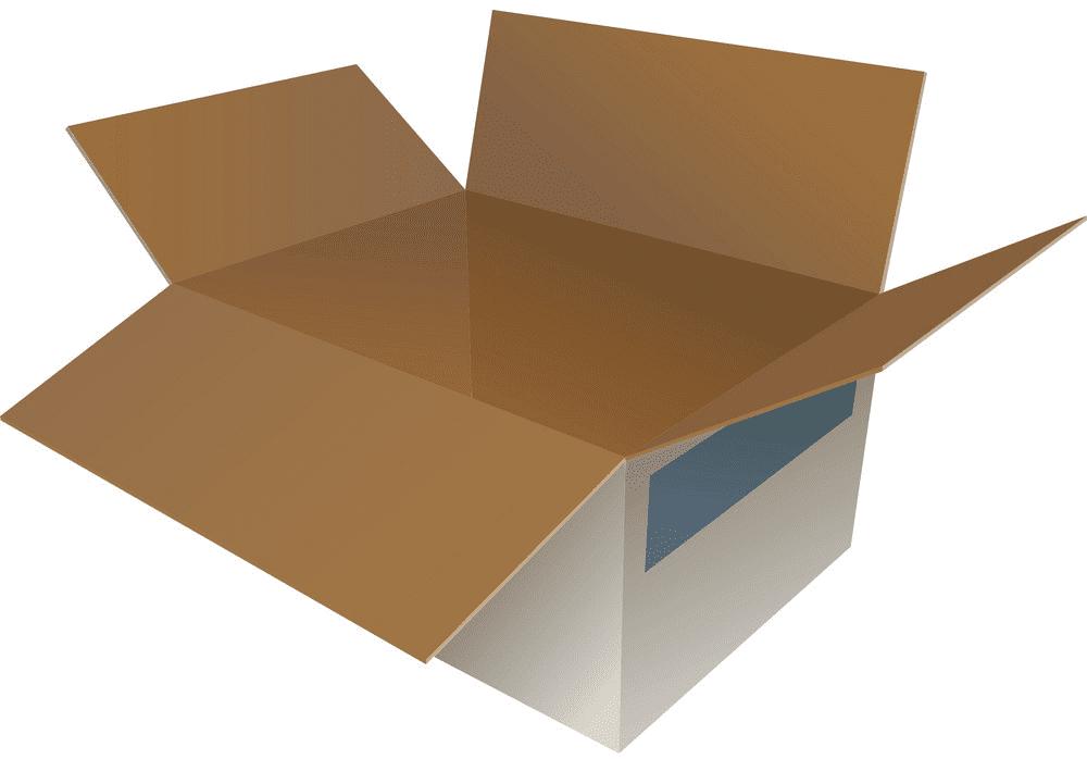 Open Box clipart 5