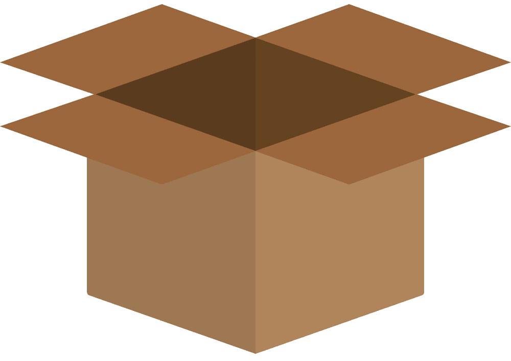 Open Box clipart 6
