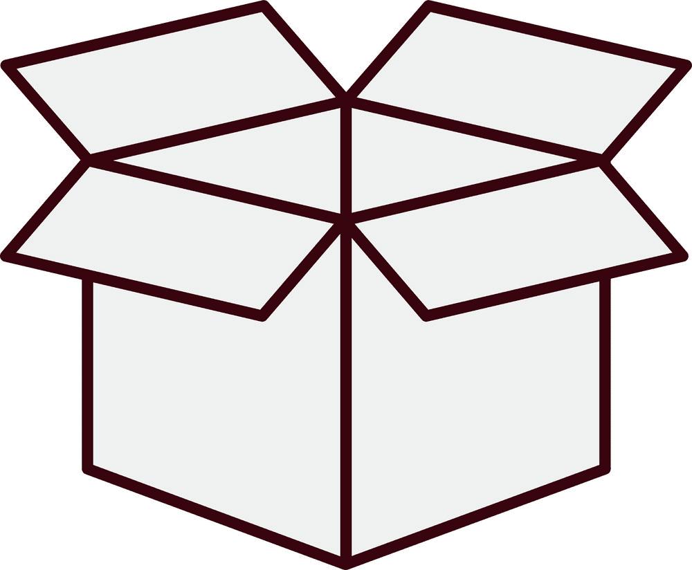 Open Box clipart 8