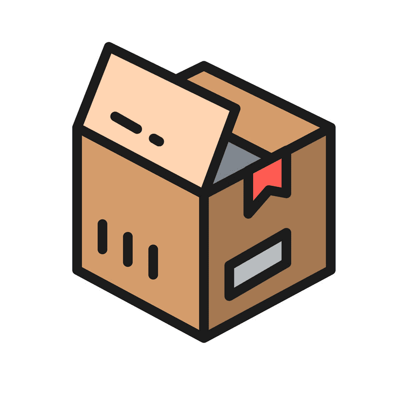 Open Box clipart free download