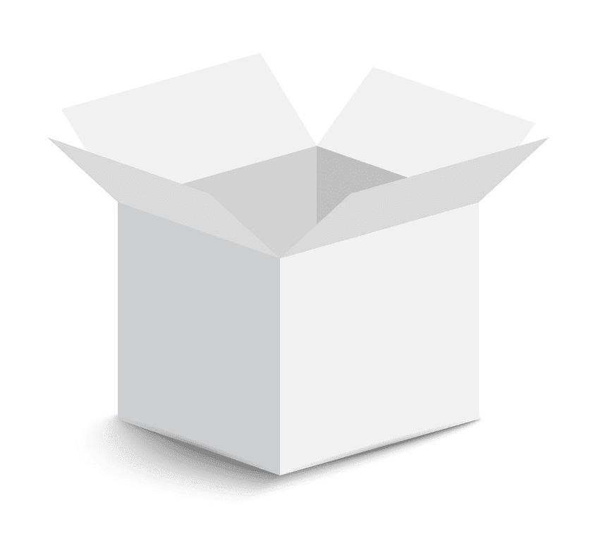 Open Box clipart free image