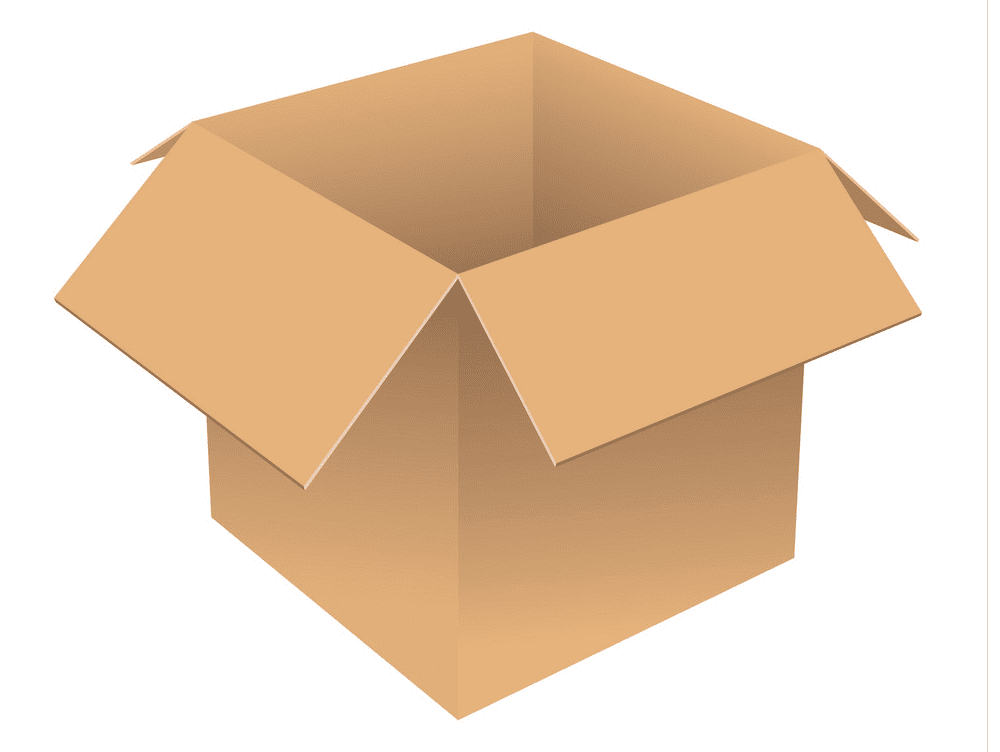Open Box clipart free
