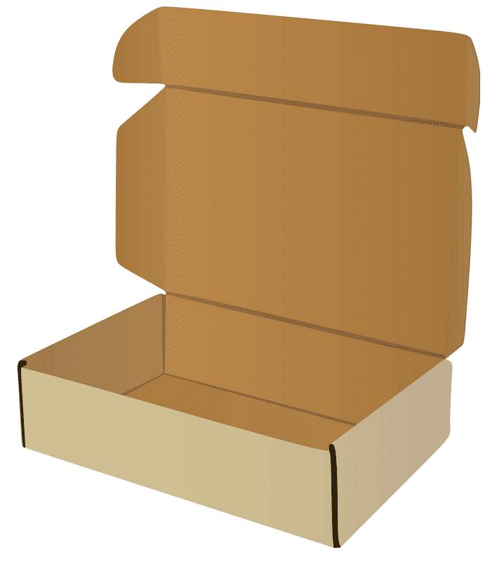 Open Box clipart image