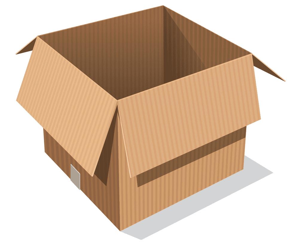 Open Box clipart images