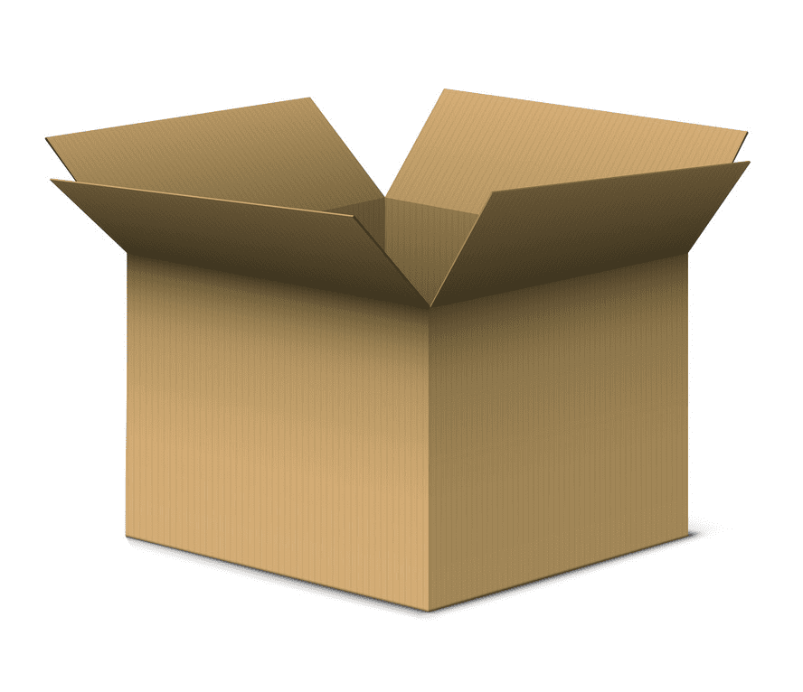 Open Box clipart png free