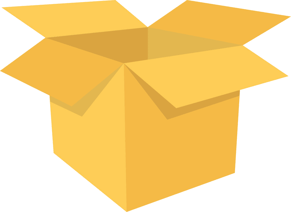 Open Box clipart png image