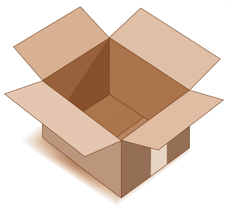 Open Box clipart png images
