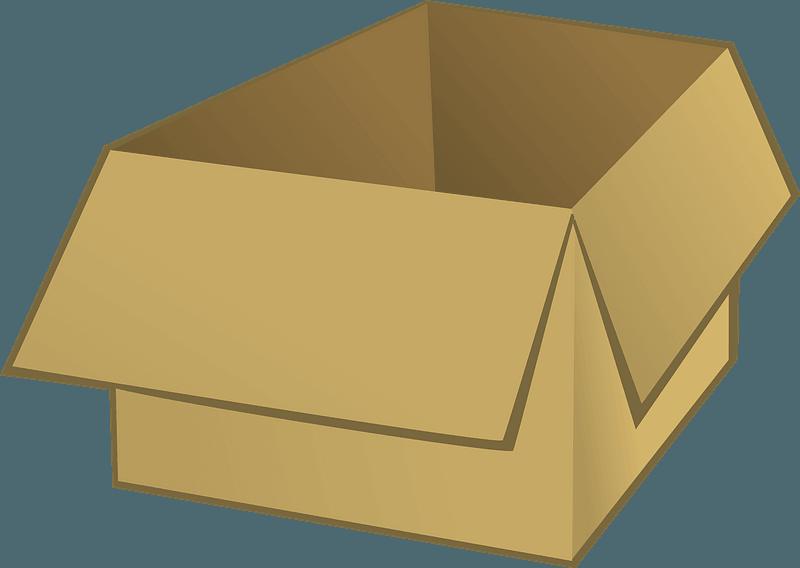 Open Box clipart transparent 2