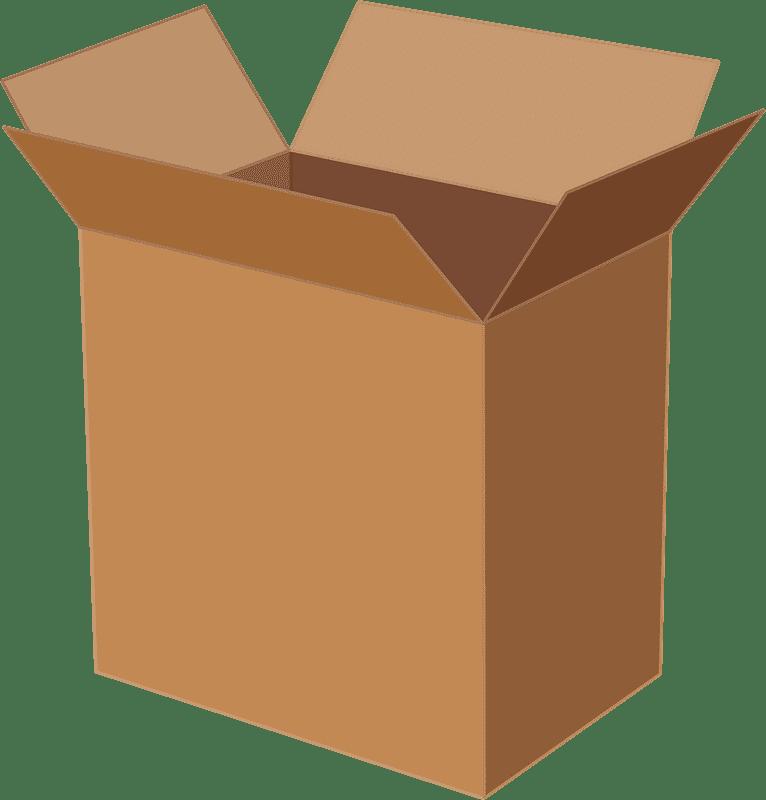 Open Box clipart transparent 4
