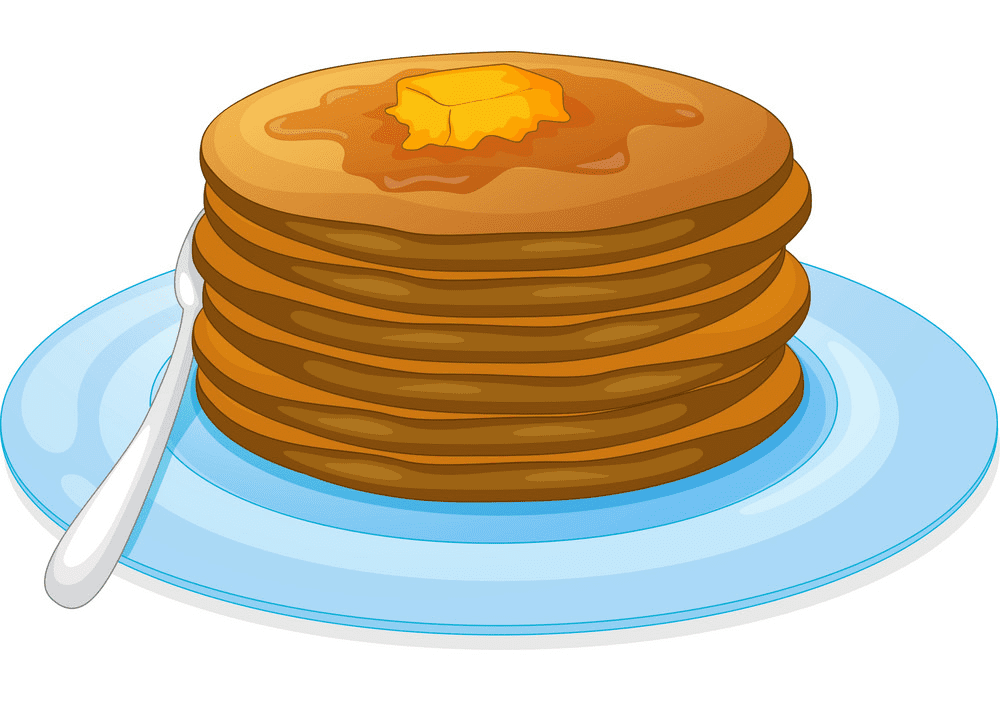 Pancakes clipart for free