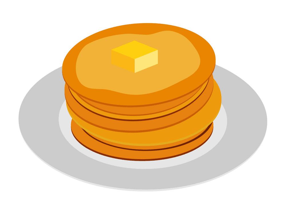 Pancakes clipart free 5