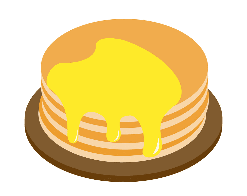 Pancakes clipart free for kids
