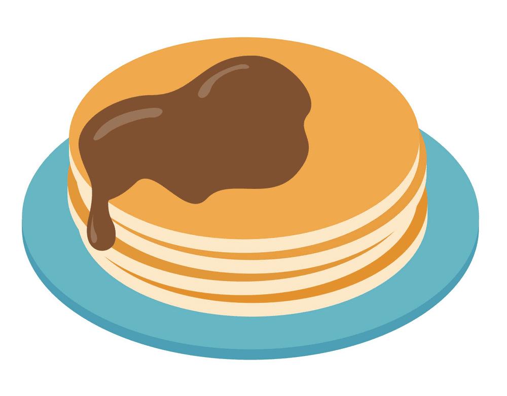 Pancakes clipart free image