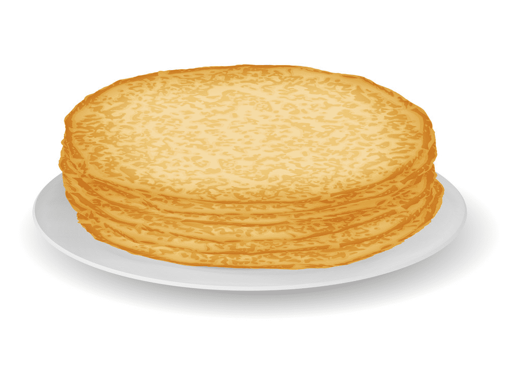 Pancakes clipart free picture