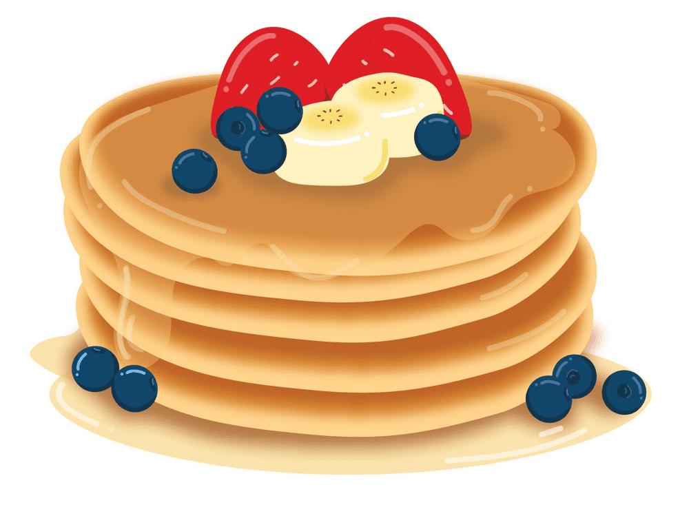 Pancakes clipart free