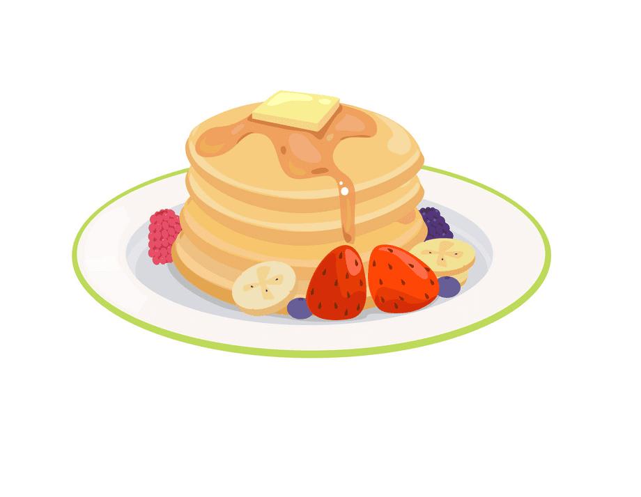 Pancakes clipart image