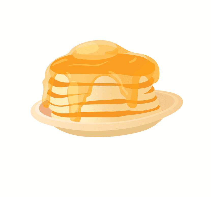 Pancakes clipart images