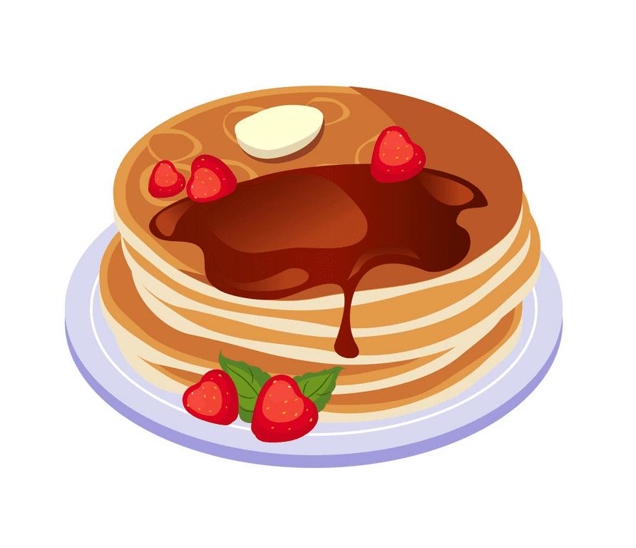 Pancakes clipart picture