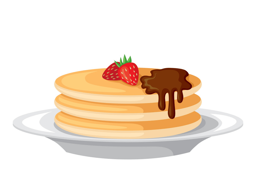 Pancakes clipart png for kid