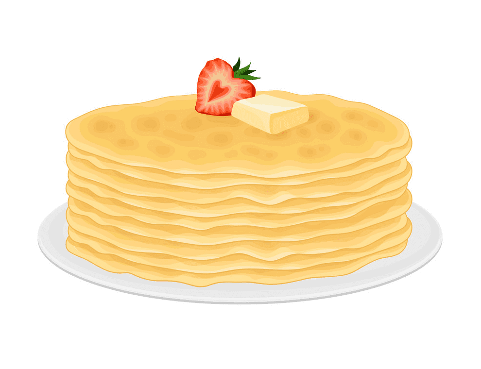 Pancakes clipart png for kids