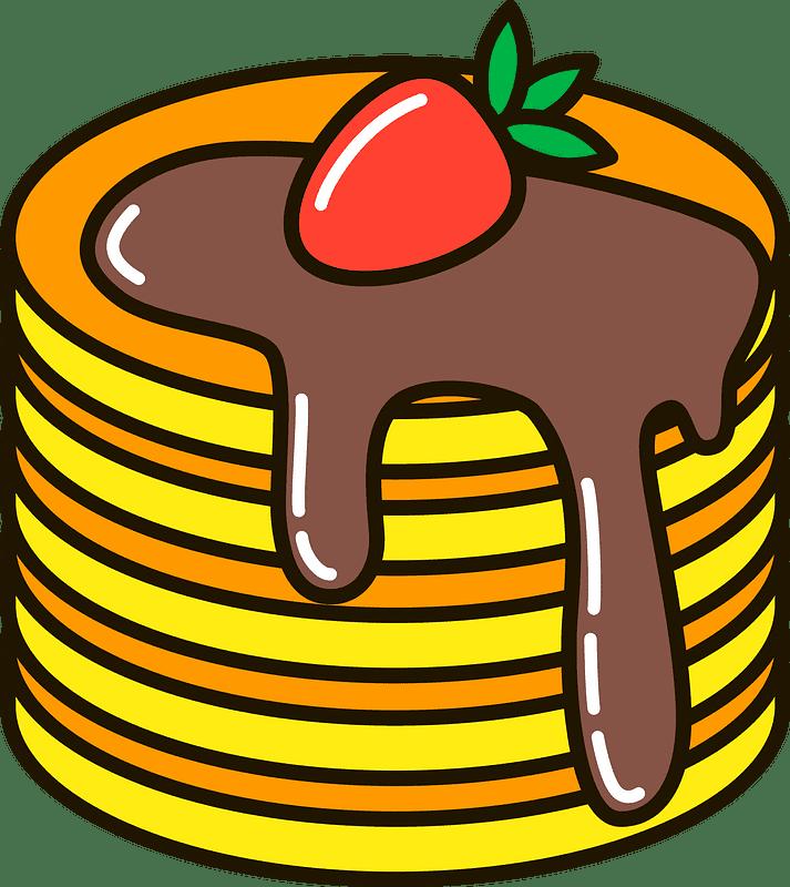 Pancakes clipart transparent 1