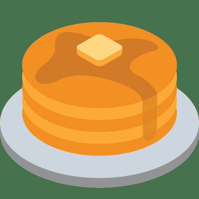 Pancakes clipart transparent 10
