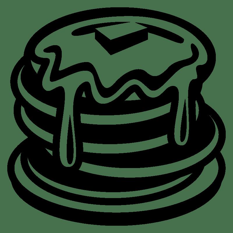 Pancakes clipart transparent 11