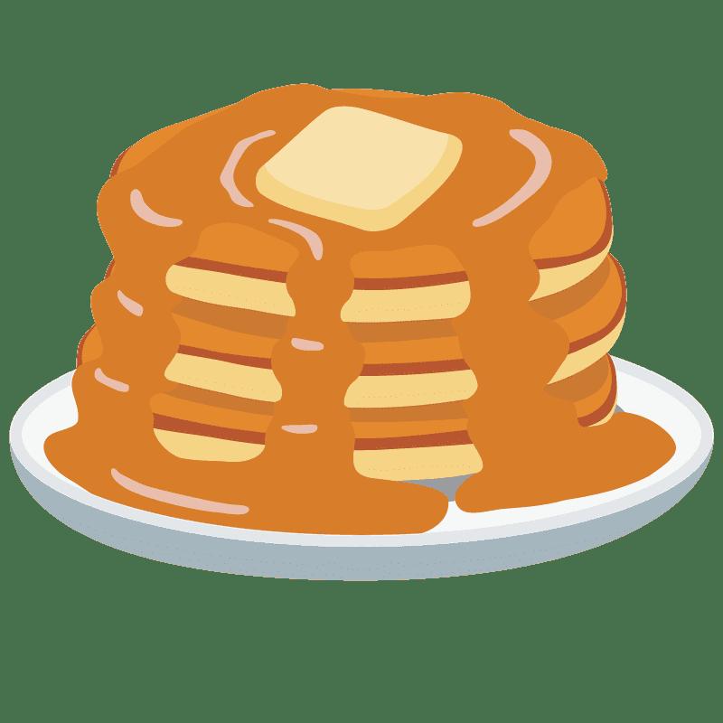 Pancakes clipart transparent 12