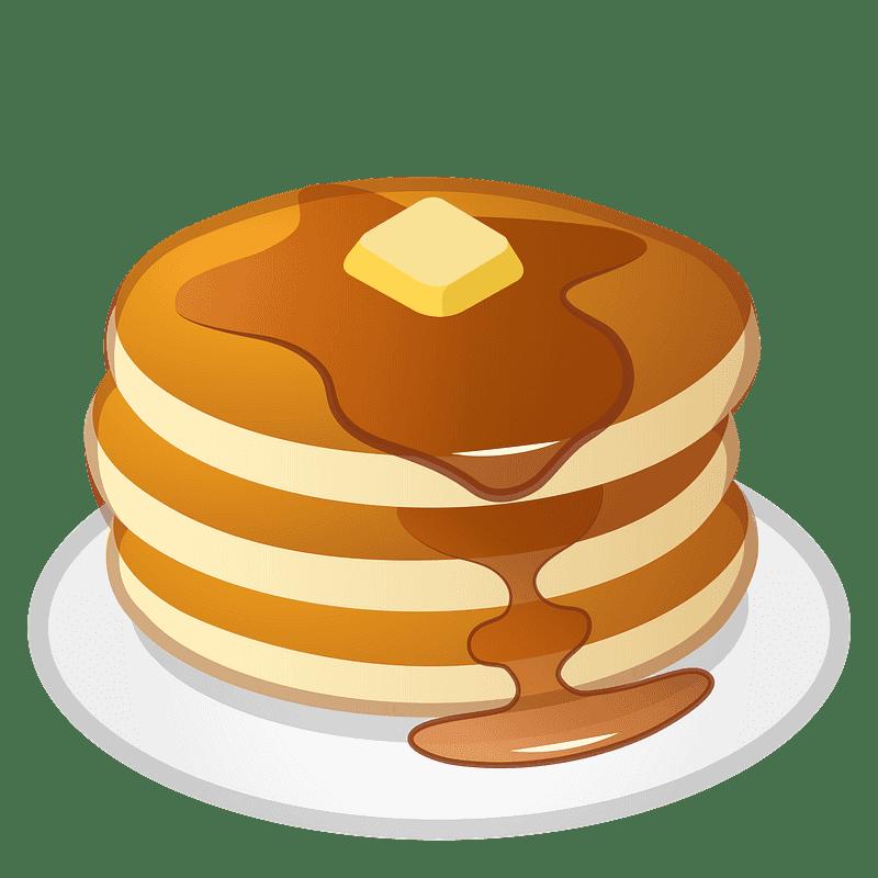 Pancakes clipart transparent 13
