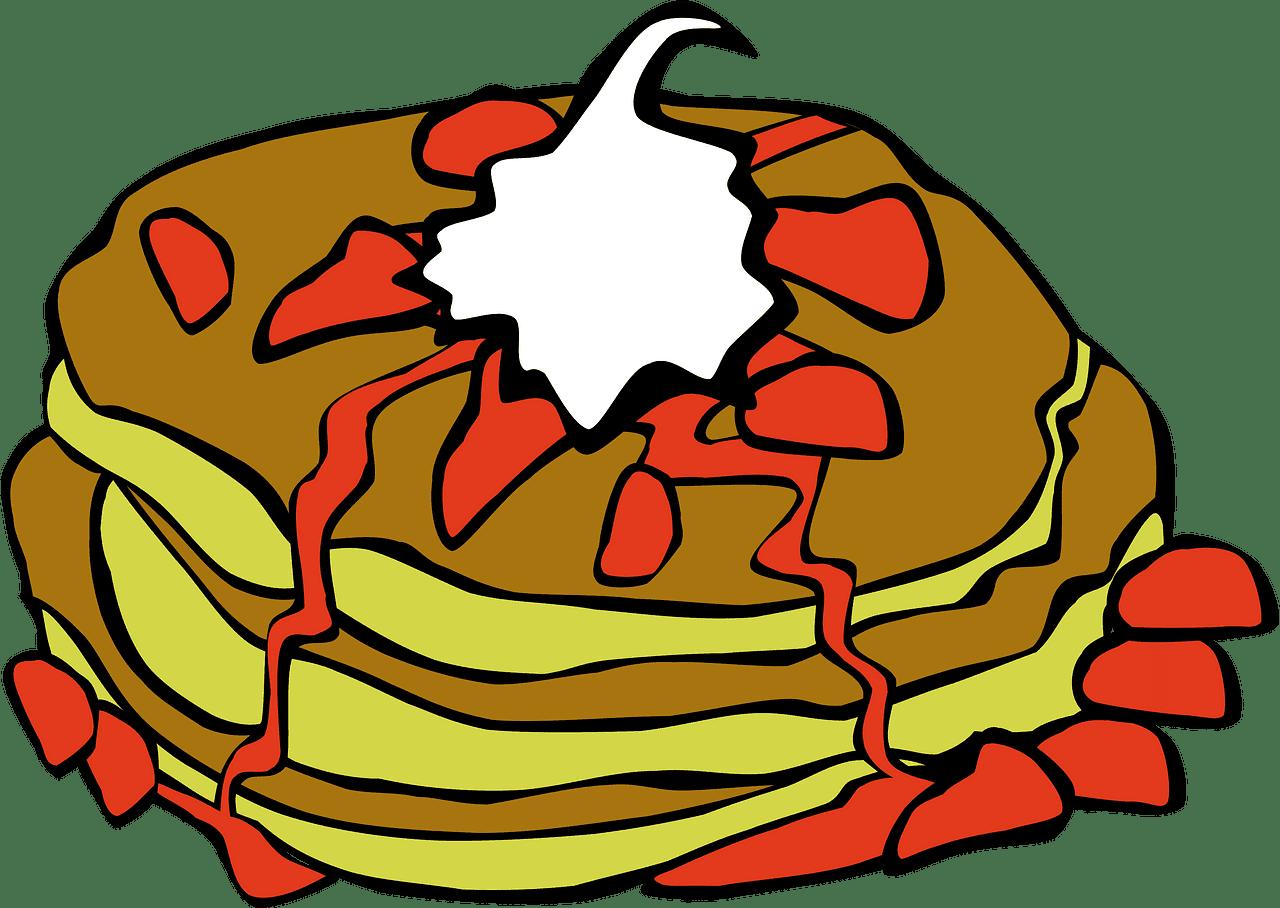 Pancakes clipart transparent 6