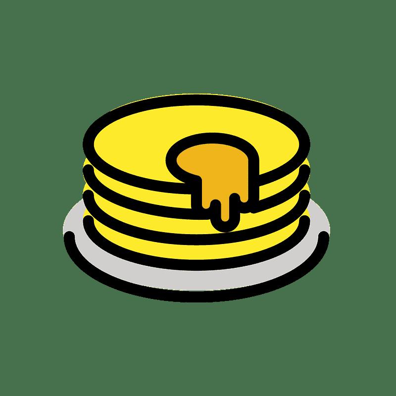 Pancakes clipart transparent 7