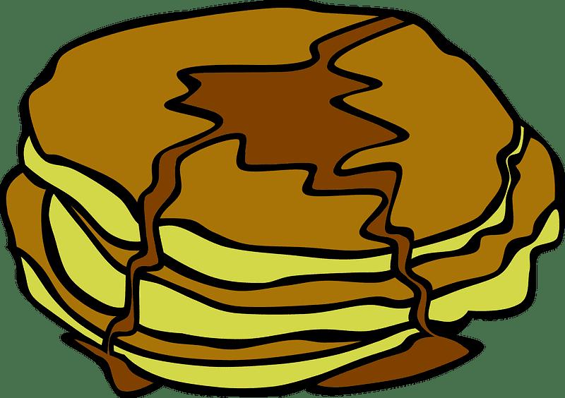 Pancakes clipart transparent 8
