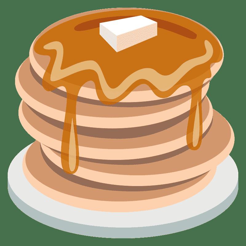 Pancakes clipart transparent 9