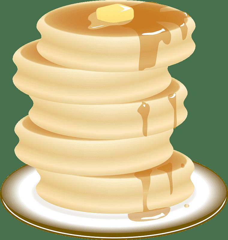 Pancakes clipart transparent background 1
