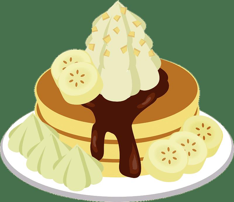 Pancakes clipart transparent background 2
