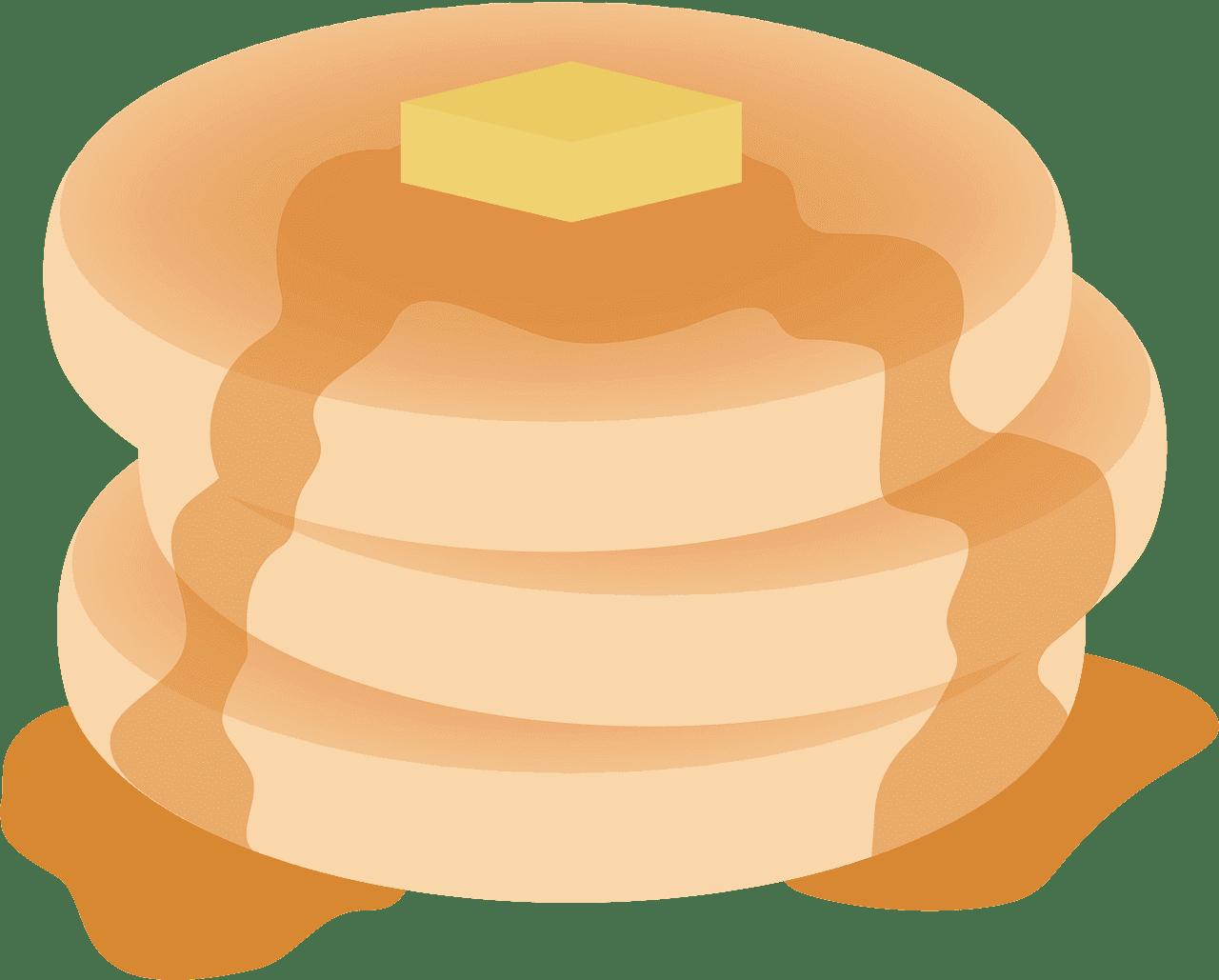 Pancakes clipart transparent background 3