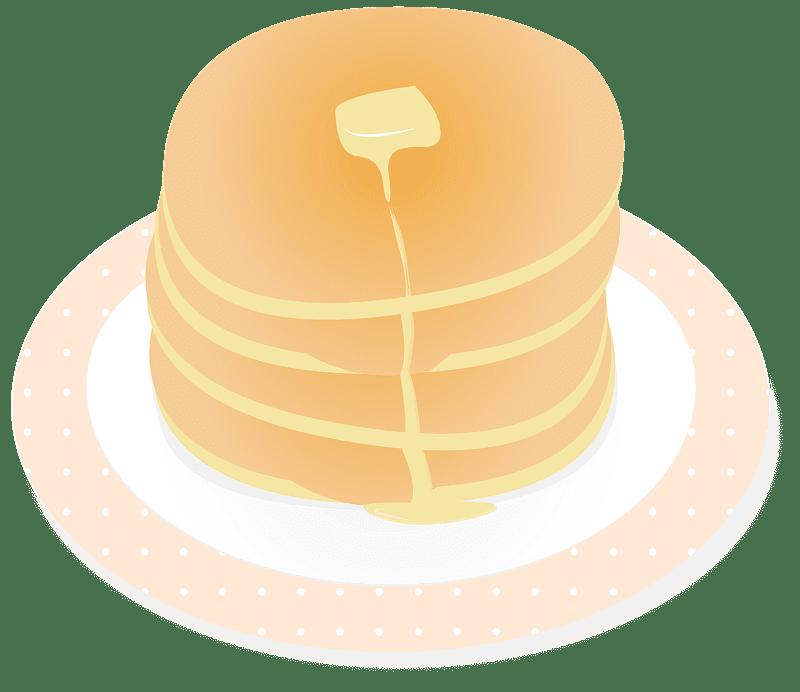 Pancakes clipart transparent background 5