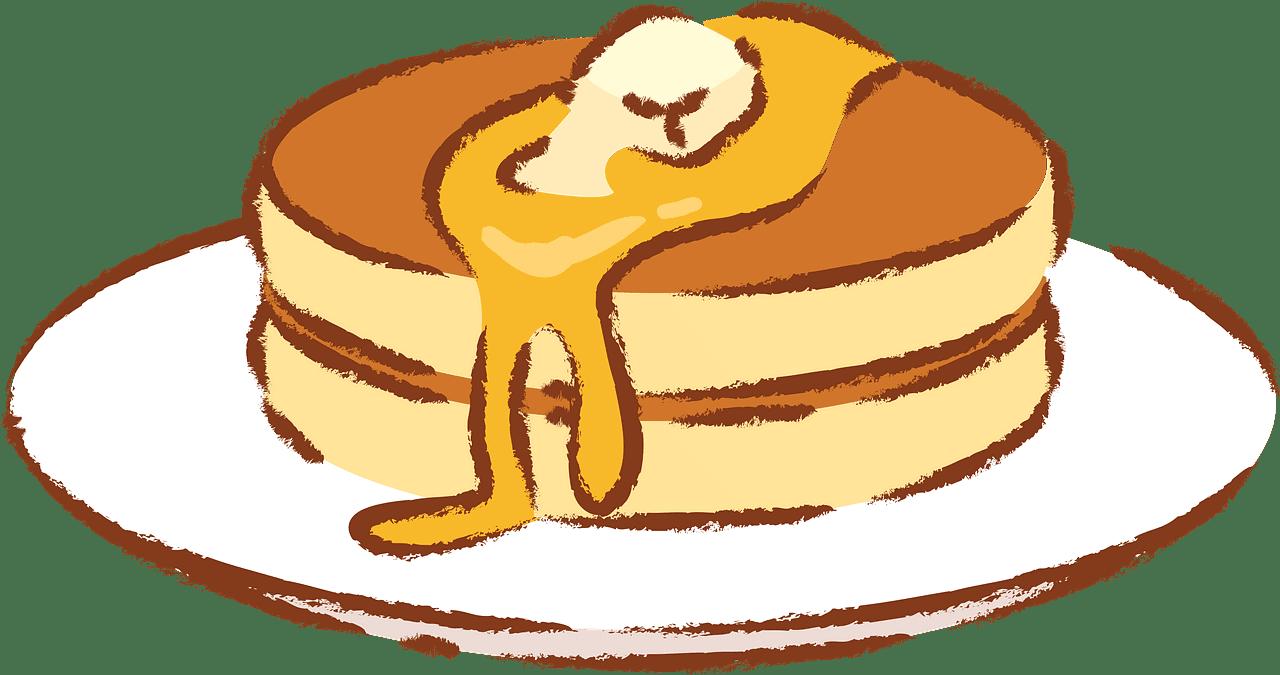 Pancakes clipart transparent background 6