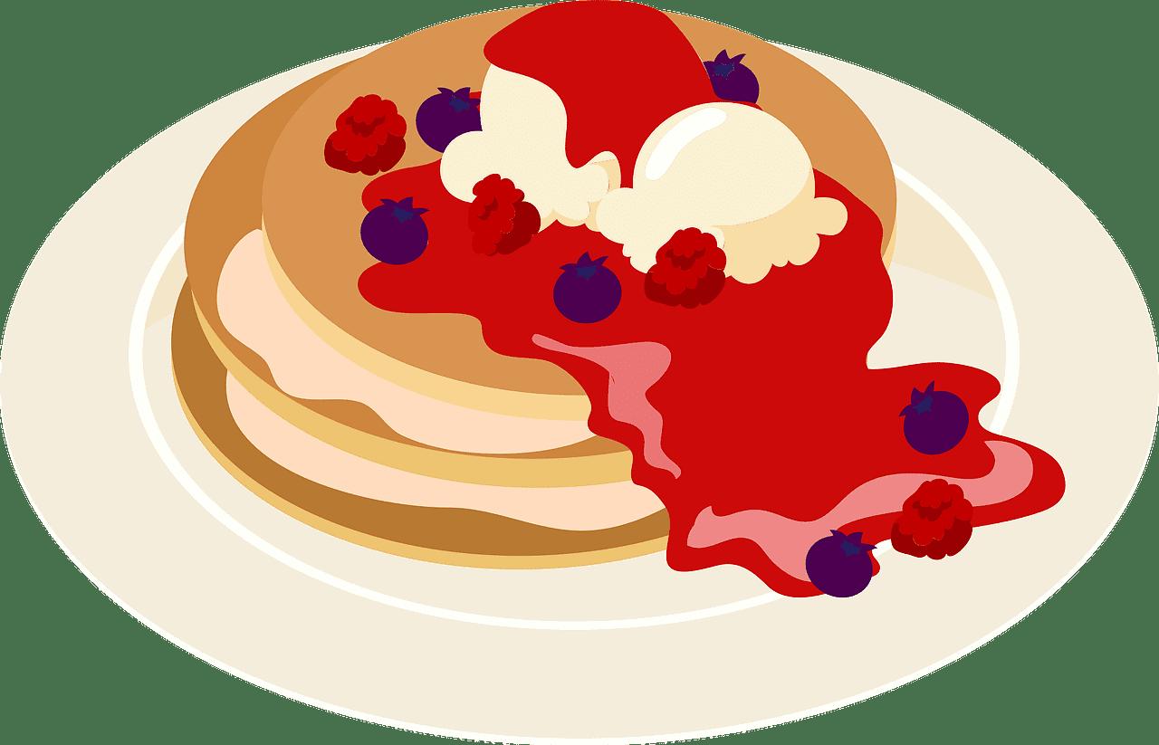 Pancakes clipart transparent background