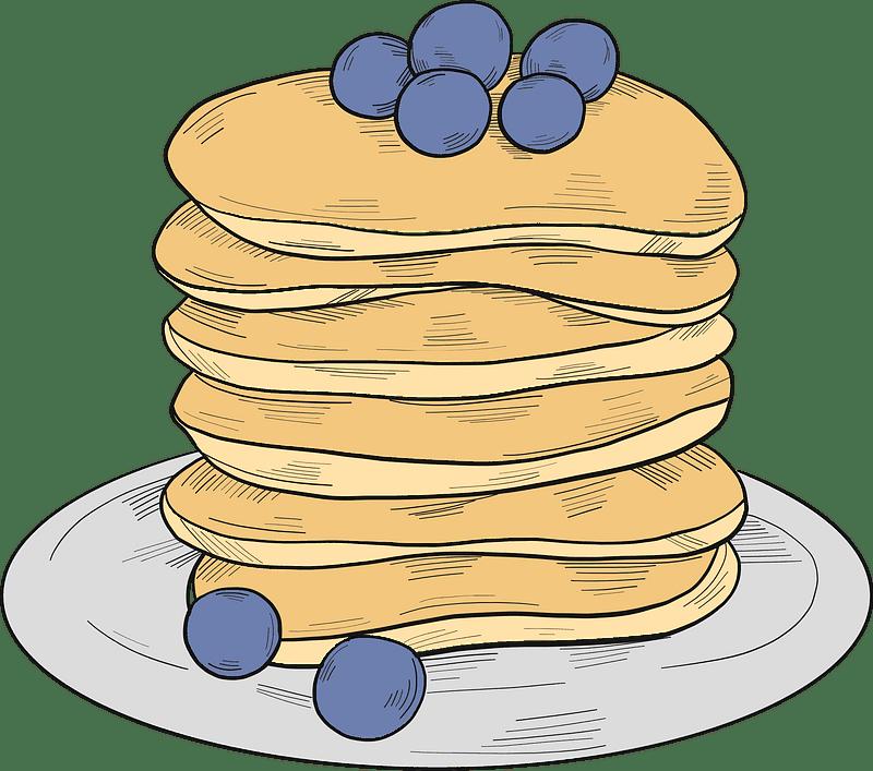 Pancakes clipart transparent download