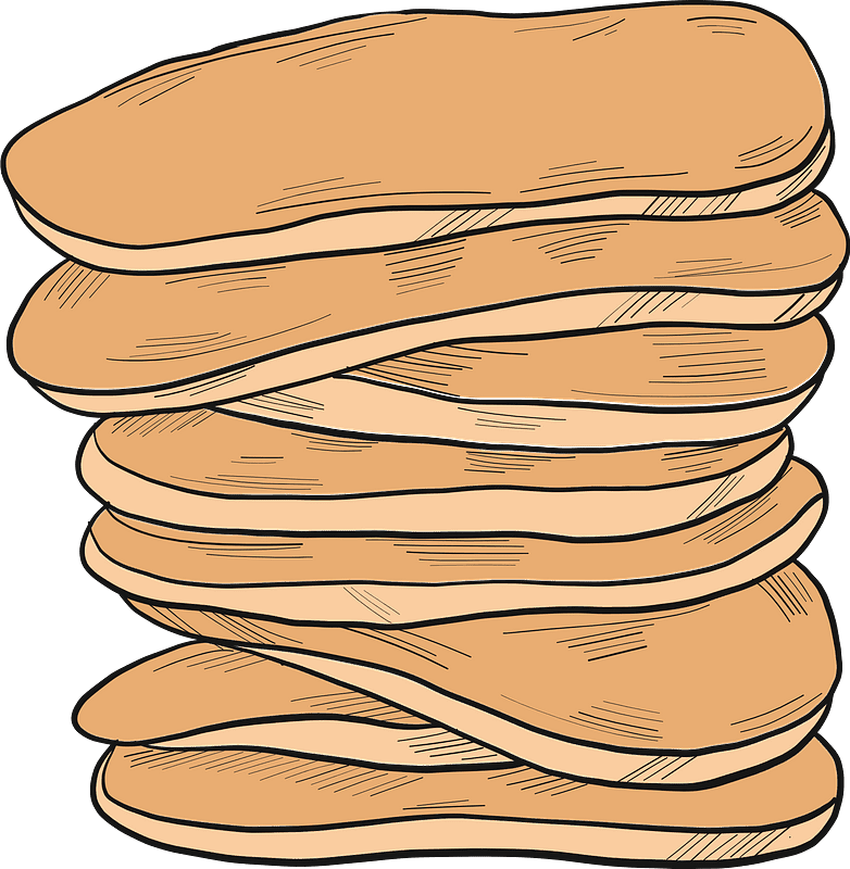 Pancakes clipart transparent for kids
