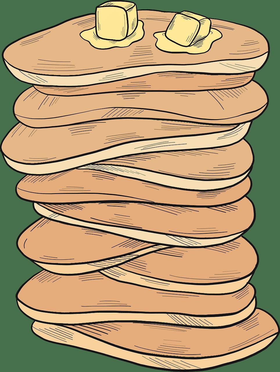 Pancakes clipart transparent image