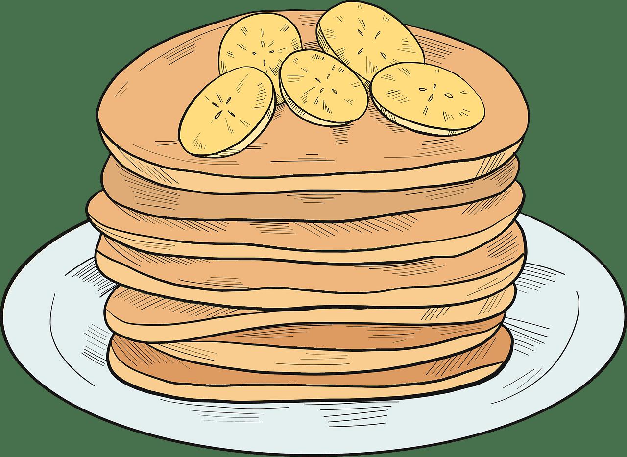 Pancakes clipart transparent picture