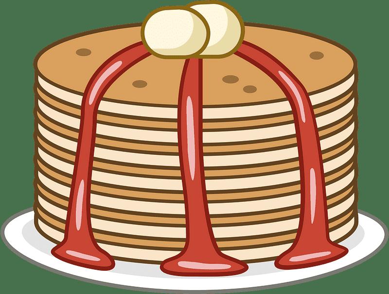 Pancakes clipart transparent