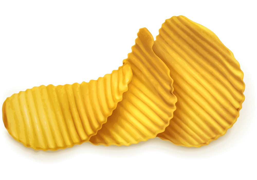Potato Chips clipart for free